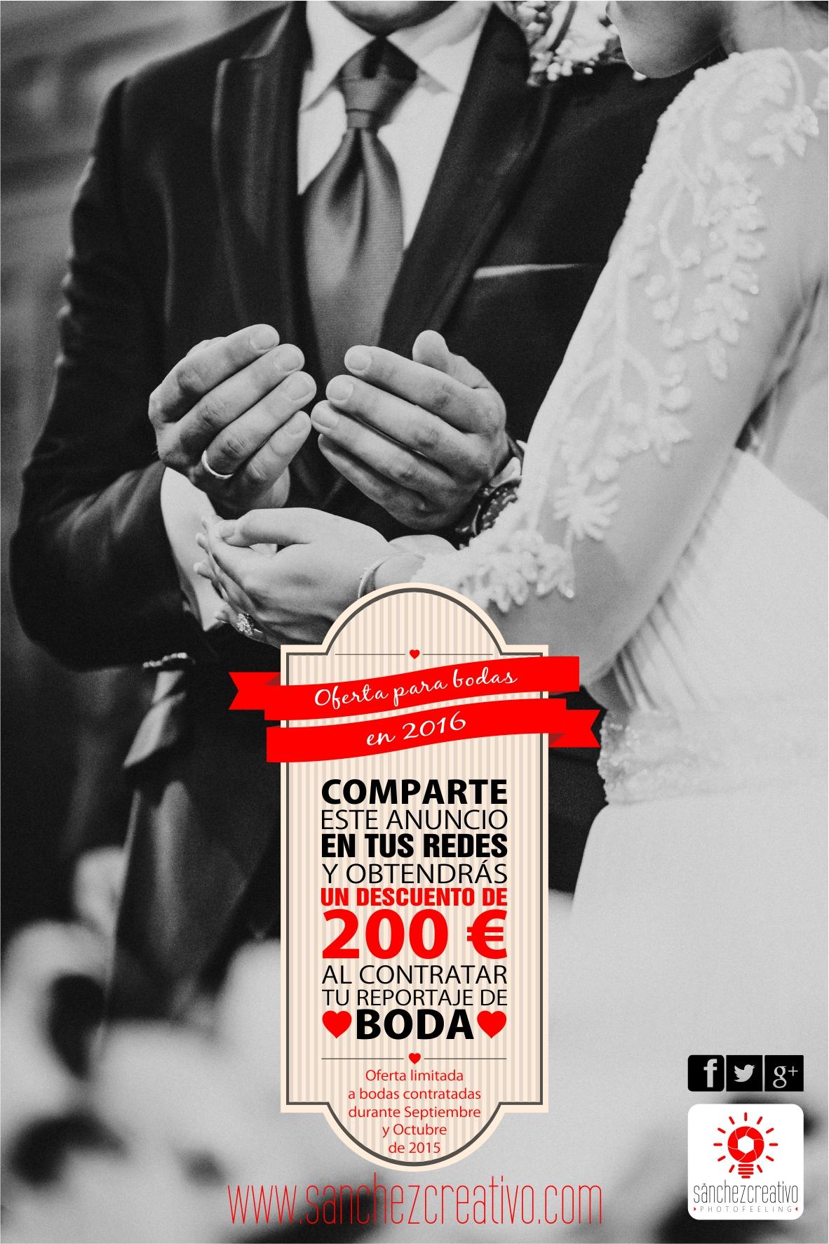 oferta bodas
